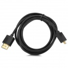 1080P HDMI Male to Micro HDMI Male Extension Cable - Black (150 cm)