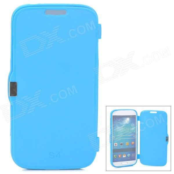 Protective Silicone Case for Samsung i9500 - Blue