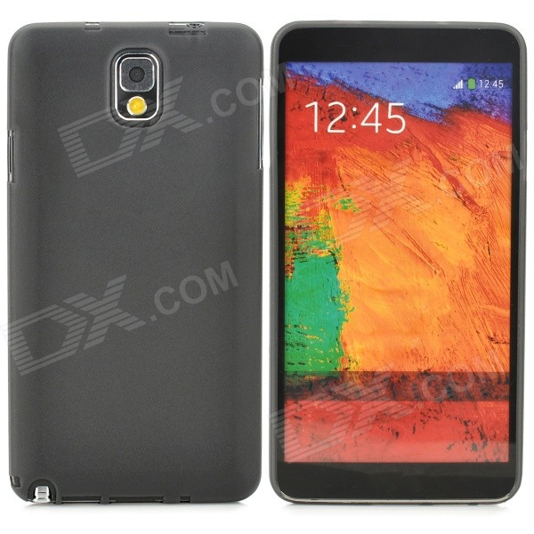 Ultra Thin PC Back Case for Samsung Galaxy Note 3 / N9000/ N9005/ N900A/ N9002 - Translucent Black