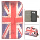 UK National Flag Pattern Protective PU Leather Case for Samsung Galaxy Ace 2 i9160