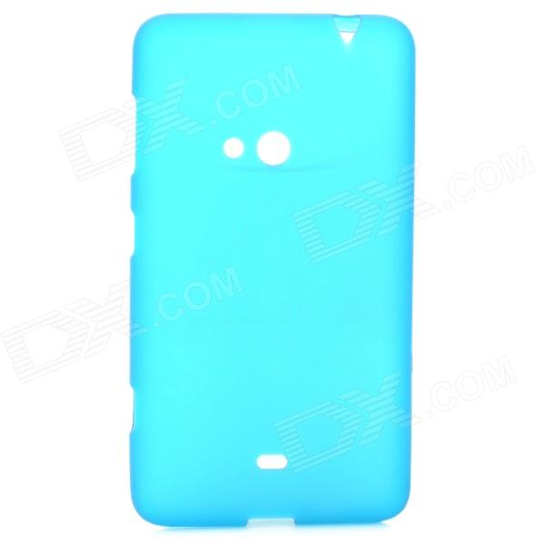 Protective TPU Back Case for Nokia Lumia 625 - Blue s style protective soft tpu back case for nokia lumia 928 translucent grey