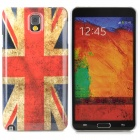 UK National Flag Pattern Protective Plastic Case for Samsung Galaxy Note 3 N9000 / N9005