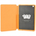 Kadingqi Cartoon Donkey Style Protective PU Leather + Plastic Case for Ipad MINI - Yellow + Brown