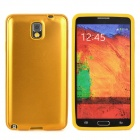 Protective Silicone + Aluminium Case for Samsung Galaxy Note 3 N9000 - Golden