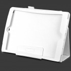 Protective PU Leather Case w/ Stand for Ipad AIR / Ipad 5 - White