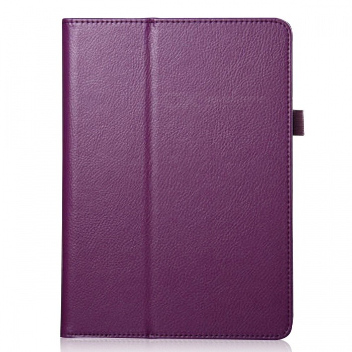 Protective Flip Open PU Ledertasche für Ipad AIR / Ipad 5 - Purple