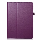 Protective Flip Open PU Leather Case for Ipad AIR / Ipad 5 - Purple
