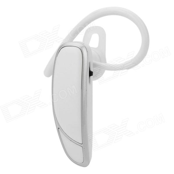 MIAG MAJ Voice Prompt Bluetooth v4.0 Headset w/ Microphone - White