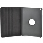 Alligator Pattern 360 Degree Rotatable PU Leather Case for Ipad AIR - Black