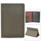 Protective PU Leather Case w/ Card Slot for Retina Ipad MINI - Tan