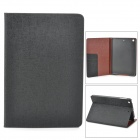 Protective PU Leather Case w/ Card Slot for Retina Ipad MINI - Black