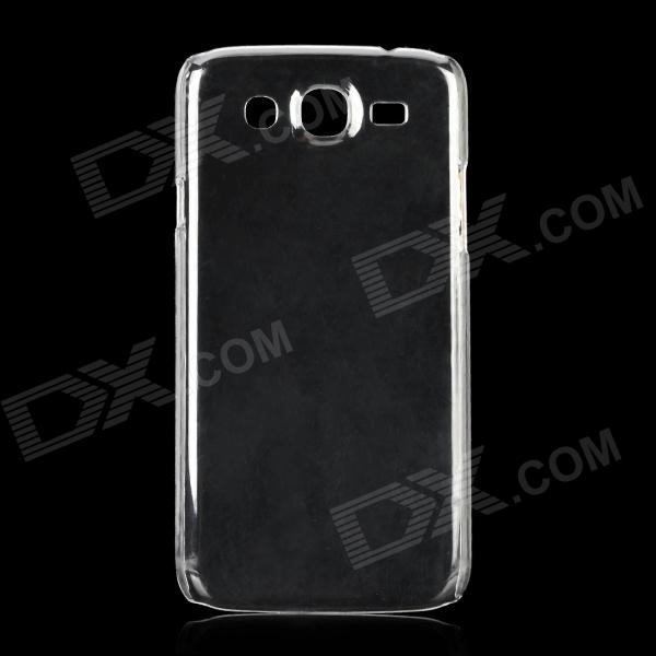 Simple Protective Plastic Back Case for Samsung Galaxy Mega 5.8 i9152 / i9158 / i9150 - Transparent
