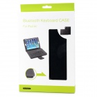 Elegante v3.0 Teclado 64-Key removível Bluetooth + caso do plutônio para Ipad AIR - Preto