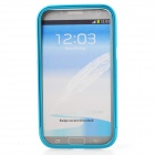Zomgo Colorful Metal Pull-out Protective Bumper for Samsung GALAXY Note 2 / N7100 - Blue