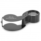 40X 25mm Illuminated Loupe Magnifier w/ White LED
