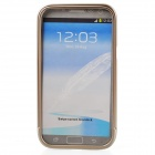 Zomgo Bunte Metall Pull-out Protective Bumper für Samsung GALAXY Note 2 / N7100 - Goldene