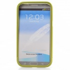 Zomgo Colorful Metal Pull-out Protective Bumper for Samsung GALAXY Note 2 / N7100 - Green