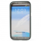 Zomgo Colorful Metal Pull-out Protective Bumper for Samsung GALAXY Note 2 / N7100 - Blue Grey