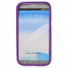 Zomgo Bunte Metall Pull-out Protective Bumper für Samsung GALAXY Note 2 / N7100 - Lila