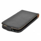 Protective Flip-Open PU Leather Case for LG Nexus 4 E960 - Black