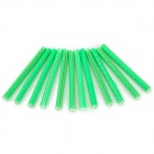 304105 Universal Reflective Spoke Tube for Bicycle - Green (12 PCS)