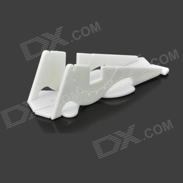Handy Convenient Desktop Transformer TPU Holder for Iphone 4 / 4s / 5 / 5c - White