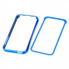 Stylish Super Thin Durable Aluminum Alloy Bumper Frame Case for Iphone 5 - Blue