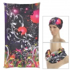Acacia 6032514 Men's Outdoor Sports Seamless Polyester Fiber Turban Head Scarf - Multicolored
