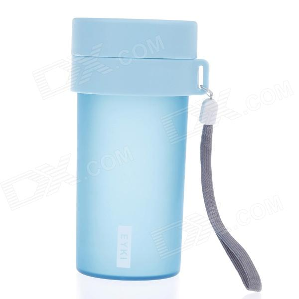 EYKI H5005 High-quality Leak-proof Frosted Bottle w/ Filter - Blue (360mL)