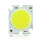 10W 95lm 6500K COB LED White Light Source for Ceiling Light - Yellow + Silver (DC 29~35V / 300mA)