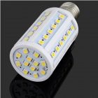 YouOkLight E27 10W 1000lm 3200K 60-SMD 5050 LED Warm White Light Lamp Bulb - White (AC 200~265V)