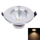 "ZIYU 3W 250lm 3500K LED Warm White Light 2.5"" Ceiling Lamp - White + Black + Silver (AC 85~265V)"