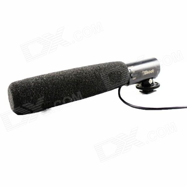 PL-MIC01 DC / DV Dedicated Microphone - Black (26cm-Cable / 3.5mm Plug / 2 x AAA)