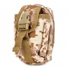 Tactical Outdoor Sports Mobile Phone Waist Bag - Camouflage Color