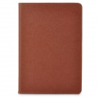 Stylish Flip-open PU Leather Case w/ Holder + Card Slot for Retina Ipad MINI - Deep Brown
