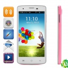 "Aoson G18 Android 4.2 GSM Dual-Core Bar Phone w/ 5.0"" Screen, Wi-Fi and Dual-Band - Pink"