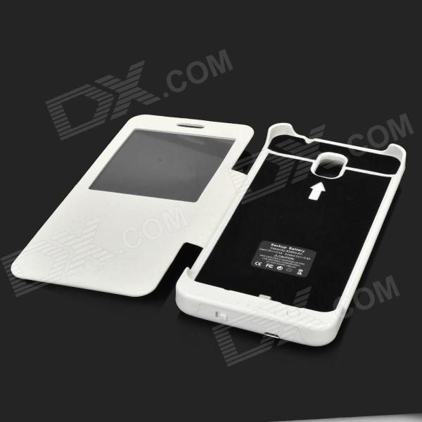 pretty nice a94d1 beb87 4200mAh External Portable Battery Charger Power Pack Case for Samsung  Galaxy Note 3 - White