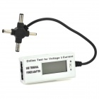 "Multifunction 1.5"" LCD Digital Voltage / Current  Measuring Tester - Grey + Black"