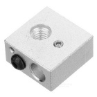 Aluminum Heating Block for 3D Printer Makerbot MK7 / MK8 - Silver