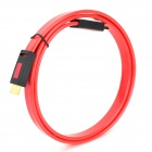 ULT ABS HDMI 1.4 Male to Male Flat Connecting Cable - Red + Black (100cm)
