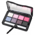 JD-LA4724  01# Cosmetic Make-Up 8-Color Shimmer Eye Shadow Kit - Multicolored