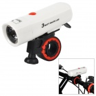 WILDWOLF YT-M18 100lm 2-Mode Neutral White Light Bicycle Light - White