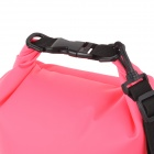 Aotu 801 Outdoor Drifting Waterproof 500D PVC Clothes Storage Bag - Pink (10L)