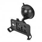 Plastic Car Rotary Mount Holder w/ Suction Cup for Samsung Galaxy S3 Mini / i8190 - Black