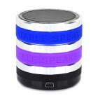 MSC-GYH-268 Portable 3W Bluetooth V3.0 MP3 Speaker w/ TF / FM Radio / Mic - Black + Blue + Purple