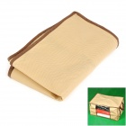 Bamboo Carbon Blanket / Quilt Storage Folding Box - Beige + Brown (72L)