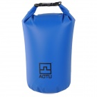 Aotu 801 Outdoor Drifting Waterproof 500D PVC Clothes Bag - Blue (10L)