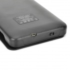 """5500mAh"" External Battery Charger w/ Protective Case for Samsung Galaxy Note 3 N9000 - Black"