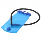 Aotu T-101 Portable Outdoor Cycling PEVA Water Bag - Translucent Blue (2L)