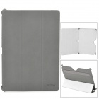ROCK Protective PU Leather Case for Samsung Galaxy Note 10.1 - Deep Grey